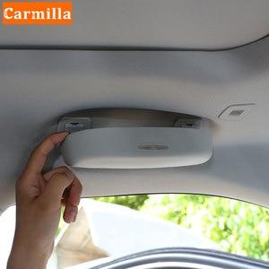 Image 3 - Auto Sonnenbrille Halter Brille Fall für Toyota Corolla Prius RAV4 Camry Reiz Venza Highlander Prado Sequoia Zubehör