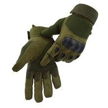 Тактические перчатки Военная армия Пейнтбол страйкбол Спорт на открытом воздухе стрельба Карбон Жесткий костяшки половина/полный палец перчатки