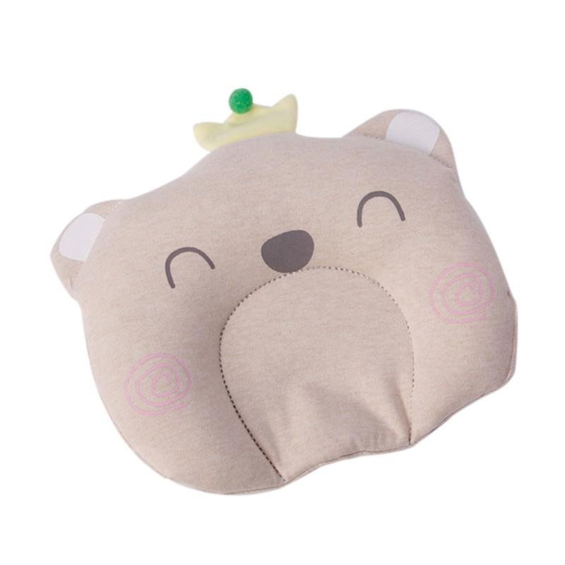 WEIXINBUY Baby Pillow Newborn Head Protection Cushion Baby Flat Head Syndrome Breathable Infant Pillows