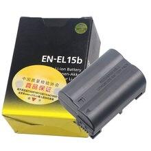 Batterie de caméra pour Nikon Z6 Z7, 1900mAh, EN-EL15b ENEL15b EN EL15b, D850 D810 D750 D610 D7500 D7200 MH-25a