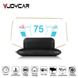 Newest HUD Mirror Car Head-up Display Speed Projector On Board Trip Computer OBD II Diagnostic Tool Faulty Code Car Speedometer(China)