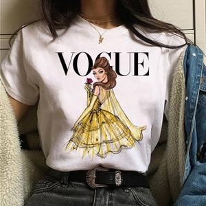 Vogue prinzessin t shirt ästhetischen frauen mode mädchen 90s t-shirt harajuku ulzzang drucken Grafik sommer t-shirt top t weibliche