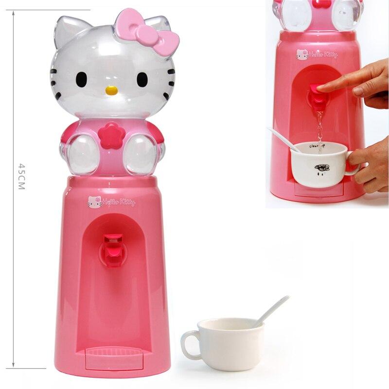 JZ50,8 чашек емкости воды для одного дня, портативный милый водяной диспенсер, мини-фонтан, мультяшный диспенсер воды для взрослых и детей