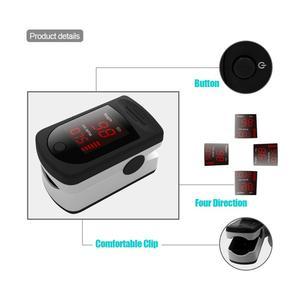 Image 4 - New Digital Fingertip Finger Pulse Oximeter Finger Heart Rate Monitor Oximetro Pulsoximeter Oximeter on the Finger LED Display