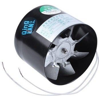 Ventilador de conducto en línea de 4 pulgadas, ventilador de tubo de...