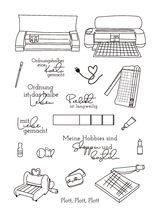 Kreativ Transparent Klar Briefmarken für DIY Scrapbooking/Karte, Der/Kinder Weihnachten Spaß Dekoration Liefert