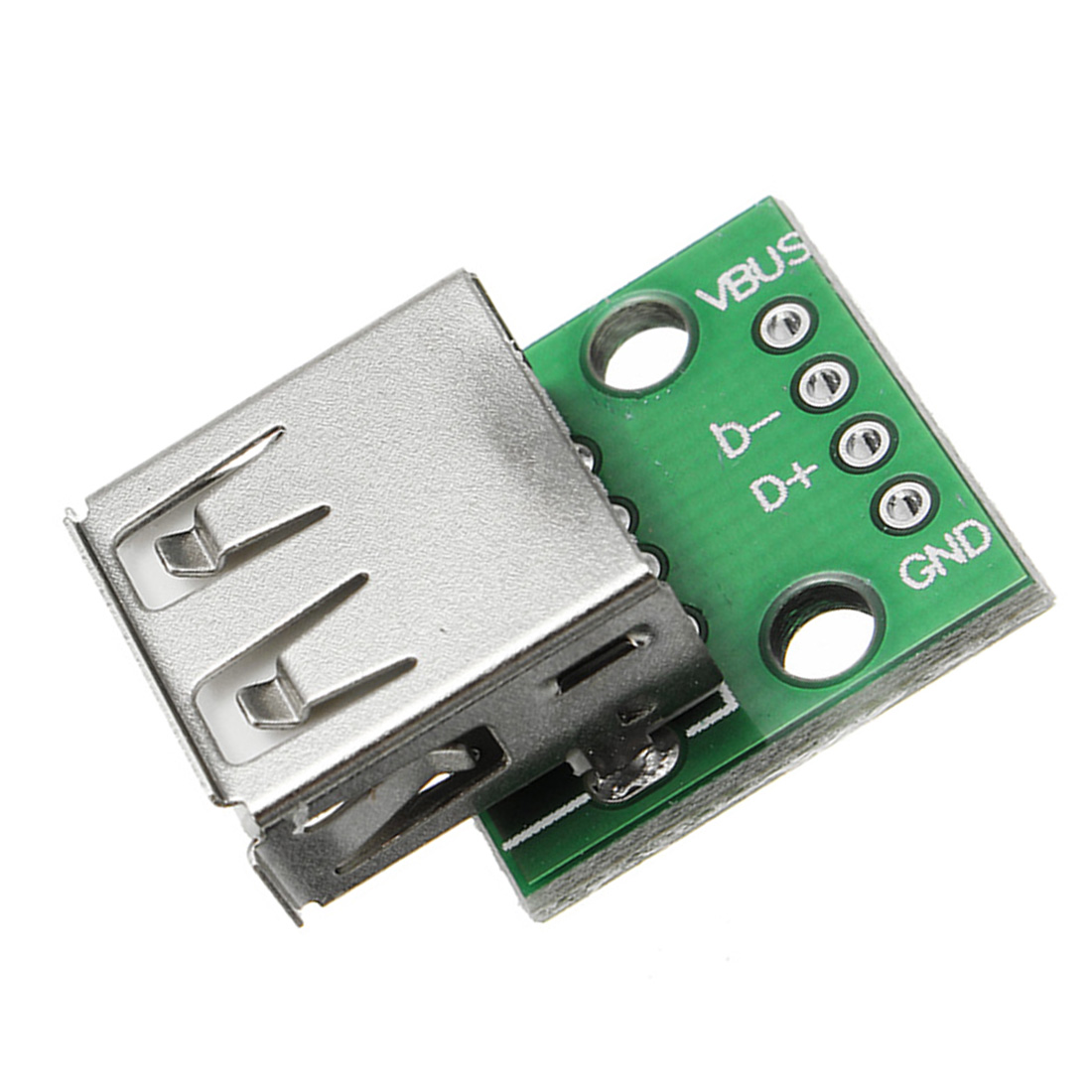 1/5/10 Pcs USB 2.0 Female Head Socket To DIP 2.54mm Pin 4P Switching Module For Phone USB Cable Plugboard
