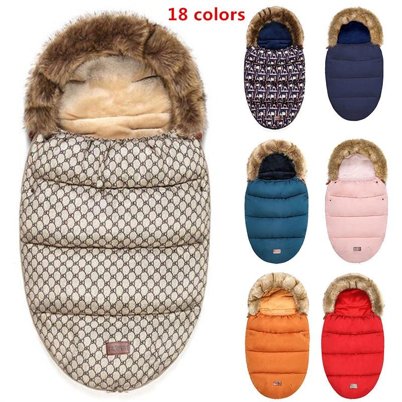 Winter Warm Sleepsacks Envelope Sleepsacks Newborn Baby Stroller Sleeping Bag Thicken Warm Infant Stroller Footmuff Wheelchair bioaqua exfoliante para pies