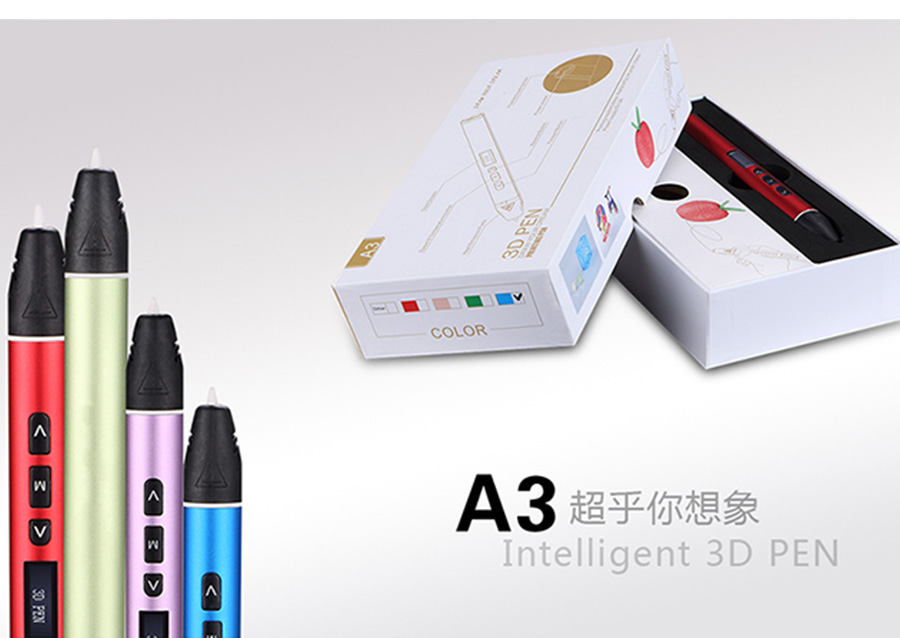 3D Printing Pen With 2 Filament Modes And Colors For Childrens Toy Gift