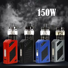New 150w liquid Electronic Cigarette Hookah vaper 2ml 2000Mah led screen vape pen box mod kit e cigarettes Smoking accessories 80w electronic cigarette vape mod box vaporizer hookah vaper shisha pen e cig smoke led smoking kit mechanical cigarettes safe