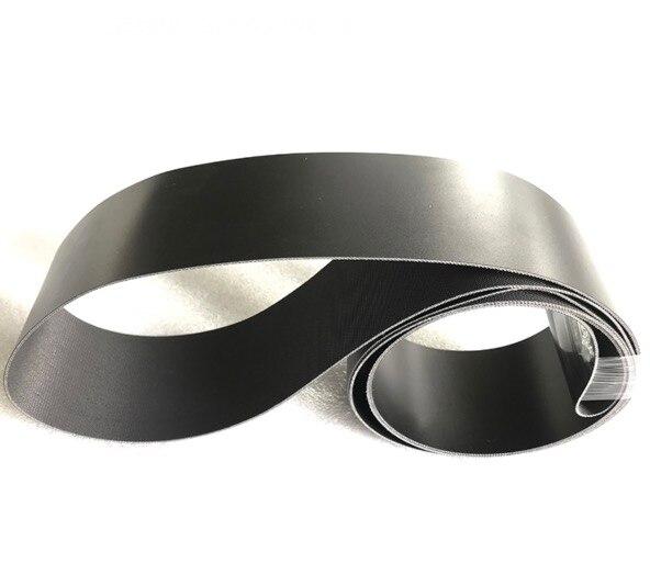 1500x100x2 мм черный пищевой полиуретановый конвейер износостойкий