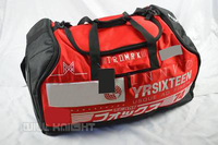 Red Black Travel Trip Luggage Bags Motorbike Scooter Motorcycle Hand Bag Motocross Racing