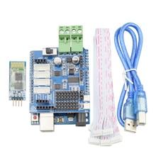 Arduino Shield Expansion Board 9-12V with 4 Channels Motors Servos Ports PS2 Joystick Remote Control for Mecanum Wheel Robot Arm стоимость