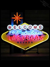 Bem-vindo ao tubo de néon signglass de las vegas lâmpada resterant luz parede anunciar logotipo personalizado livre enseign lumineuse barra néon personalizado