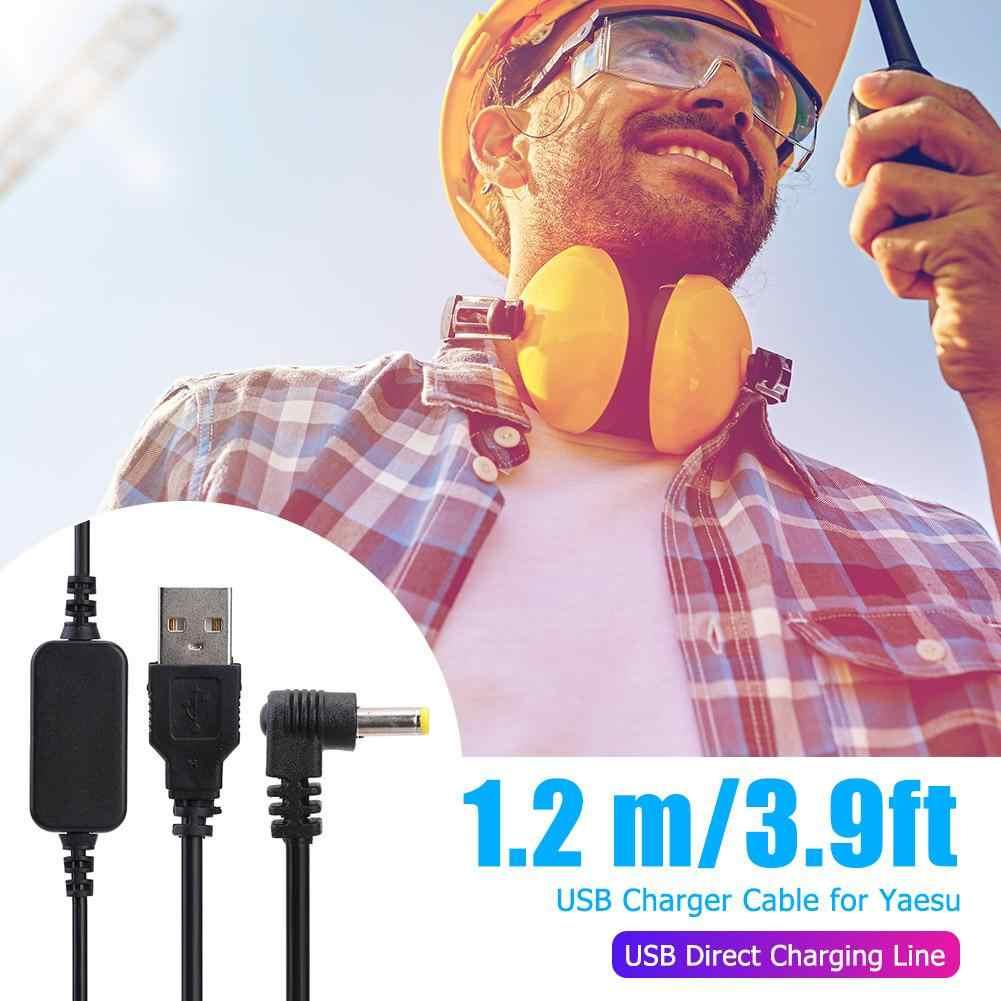 Зарядка через USB кабель Зарядное устройство удлинитель для Yaesu VX-6R VX7R FT60R VX177 VX-710 HX-470 HX-471 VXA150 VXA-300 радио