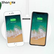 Wireless Charging Charge Two mobile phones at the same time Dual 10W dual 7.5Wwireless charging base For iPhone X 8 Samsung S9