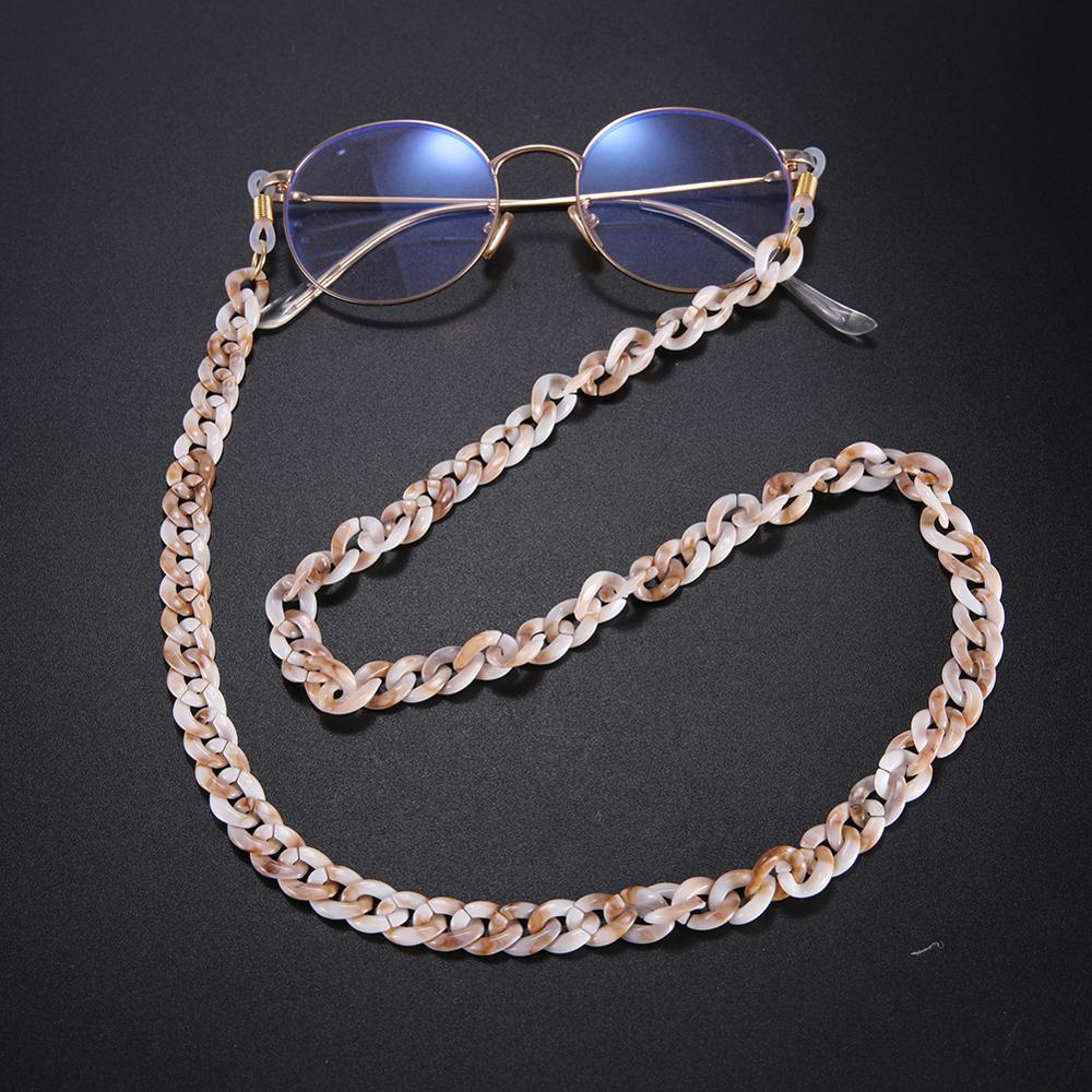 Skyrim 74CM Anti-slip Glasses Chain Acrylic Sunglasses Lanyard Reading Eyeglasses Cord Holder Neck Strap Rope For Women 2020 New