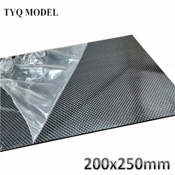 1pcs 200x250mm 3K High Hardness Carbon Fiber sheets 100% Pure Carbon Panel Board 0.5mm-5mm Thickness Carbon fiber model material [new product] kudo new hydrofoil made by 100% 3k carbon fiber bigger wings for sup board surfboard