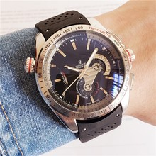 Top Brand Luxury Watch with AAA Automatic Rubber Strap, Men'