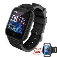 Fitness Armband Samrt Band Gesundheit Armband Fitness Uhr mit Druck Messung Herz Rate Farbe Screen Für xiaomi mi band 4