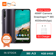 Xiaomi mi A3 Smartphone Global version 4GB 64GB 32MP Selfie Android mobile