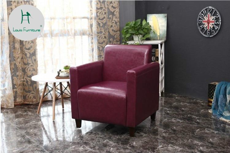 SOLO French style one site sofa modern coffee bar Internet