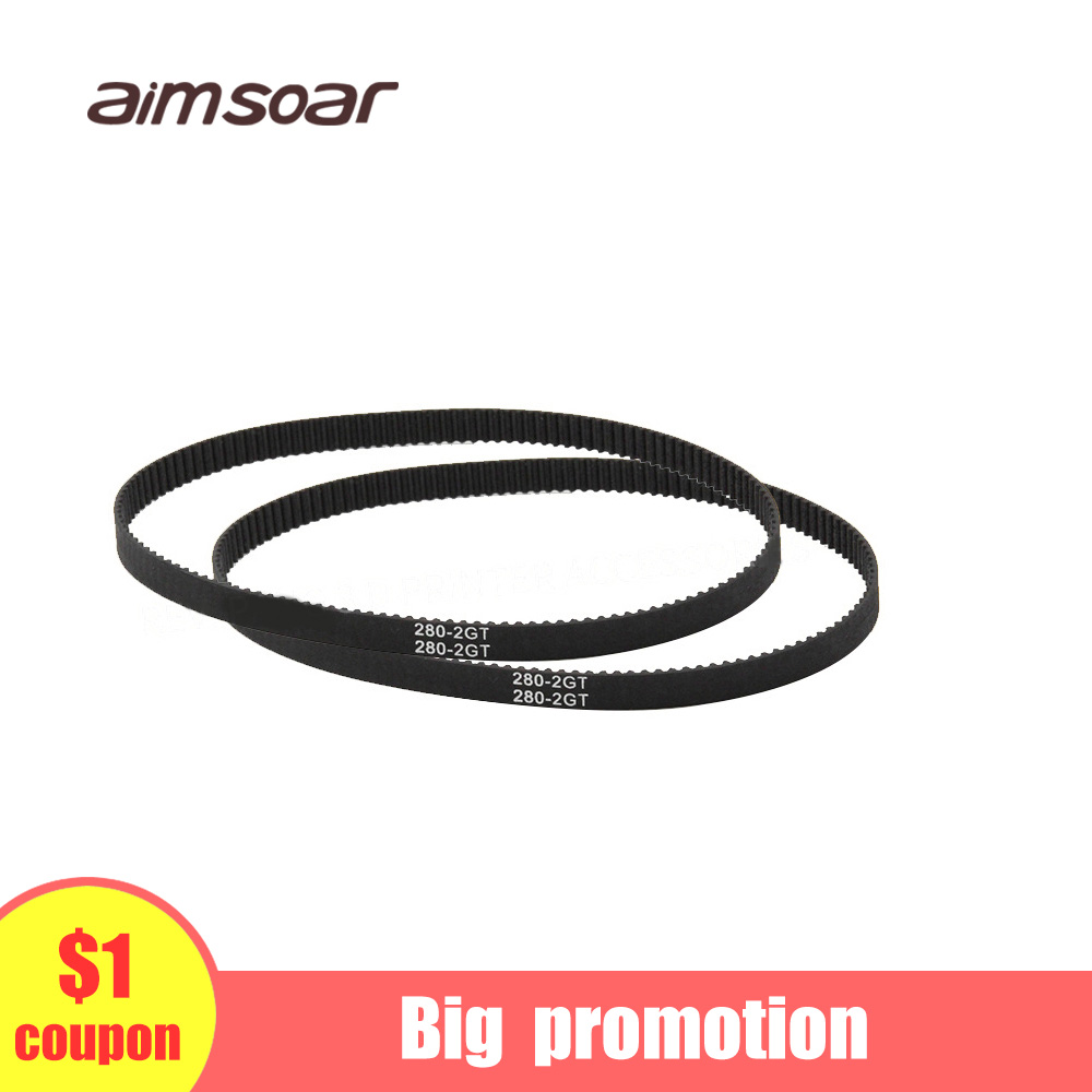 Gt2 Belt Closed 6mm Gt2 Timing Belt Loop 3d Printer Parts 852mm 752mm 1220mm 1524mm Rubber Belt