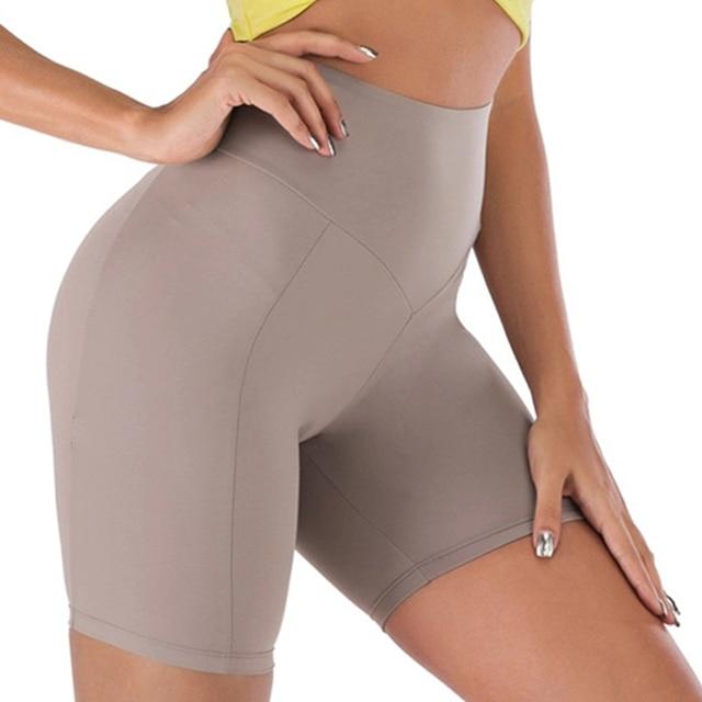 Woman Spandex Yoga Shorts