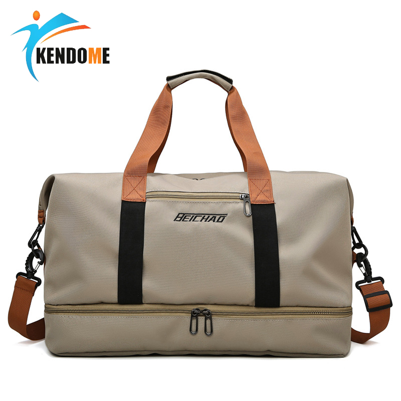 Women Sport Gym Bag Men Big Fitness Handbag Waterproof Training Travel Bag Light Weight Shoulder Bag Sac De Sport 3 Colors