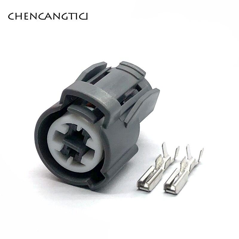 2 комплекта, 2 pin way Sumitomo, датчик давления воды на входное отверстие, разъем для автомобильного масла, переключатель давления для Honda Acura VTEC 6189-0156