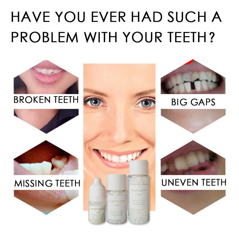 Temporary Tooth Filling Material Missing Teeth Repair Dental Tool Oral Hygiene Teeth Care Whitening Teeth Filling Material(China)