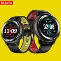 Mjuniu DT68 умные часы для мужчин IP68 Водонепроницаемые 1 2 дюймов полный сенсорный экран 30 дней в режиме ожидания ЭКГ умные часы для iphone samsuang
