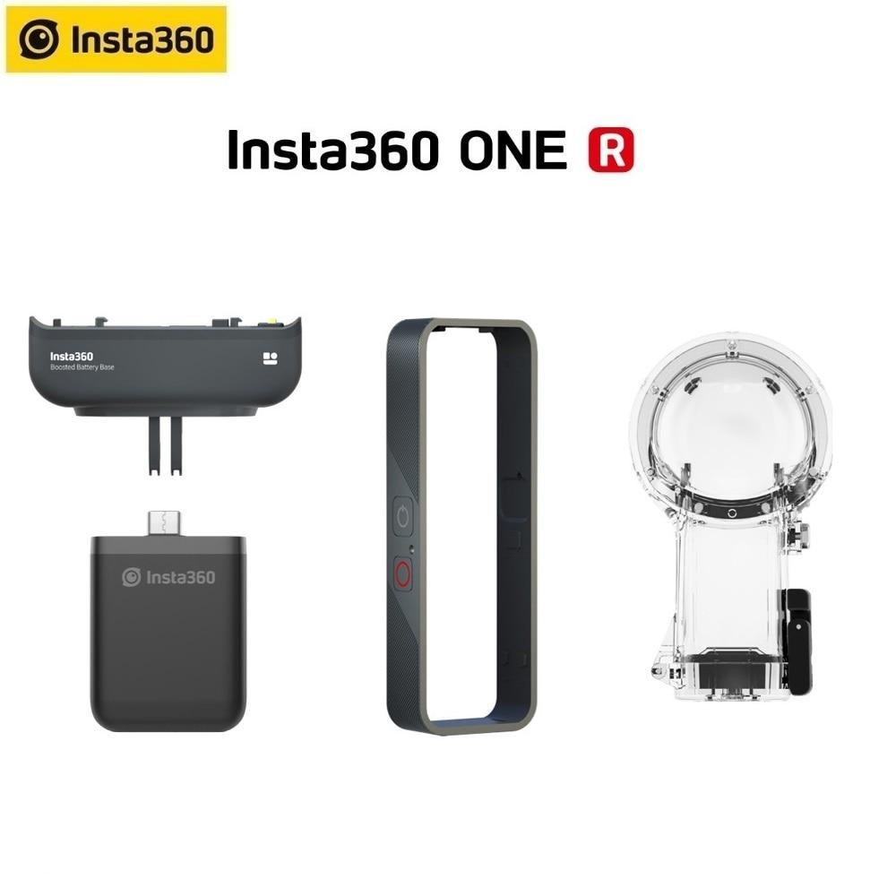 Insta360 один R Вертикальная Батарея подставки бампер чехол 360 погружения чехол для Insta 360 один R аксессуары