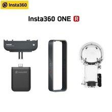 Insta360 bir R dikey pil tabanı tampon durumda 360 dalış için Insta 360 bir R aksesuarları