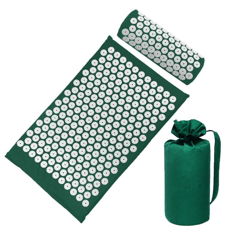 Acupressure Massage Mat with Pillow set to body Relaxation to Release Stress and Tension 50