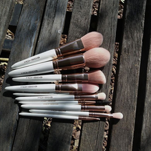 Makeup Brushes Set Eigshow 10pcs Rose Gold Powder Foundation Blush Contour Blending Eyeshadow Eyebrow Mascara Lip Make Up Brush jessup buy 3 get 1 gift makeup brushes set foundation blush liquid kabuki eyeshadow eyeliner lip contour make up brush smudge