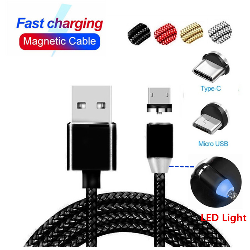 1M Fast charging <font><b>USB</b></font> Magnetic Cable cord For Huawei <font><b>honor</b></font> 20 10 i <font><b>lite</b></font> pro p20 p30 mate 20 10 <font><b>lite</b></font> <font><b>9</b></font> 8 7 pro plus charger wire image