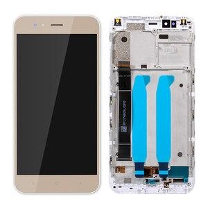 Image 4 - 100% probado para Xiaomi Mi A1 pantalla LCD + marco 10 Panel de pantalla táctil para Xiaomi A1 LCD digitalizador ensamblaje piezas de repuesto