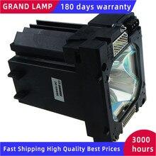 Sanyo POA LMP124 PLC XP200L 프로젝터 용 하우징이있는 PLC XP200 대체 TV 프로젝터 베어 램프 HAPPY BATE