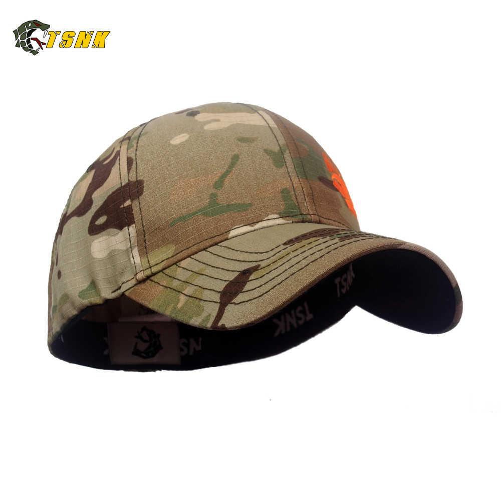 """TSNK الرجال والنساء المتحمسين العسكرية """"فريق الختم/IB9"""" التكتيكية قبعة بيسبول Snapback لمط قبعة الجري/الصيد"""