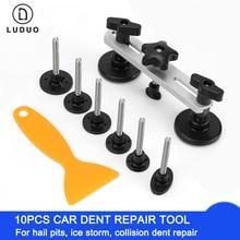 Car Dent Repair Tools Puller Paintless Furniture Body Hail Damage Fix Bridge Pulling Instrument Adhesive Glue Tabs Removal Kits