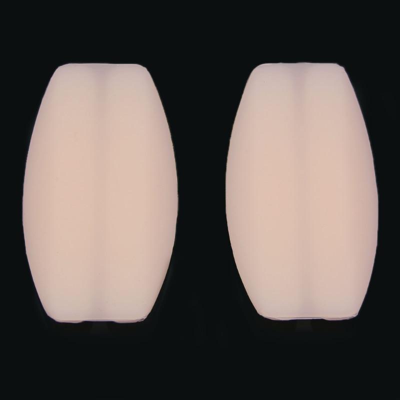 New 2PCS Soft Silicone Women Bra Strap Holder Non-slip Shoulder Pads Relief Pain LX9E