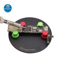 Phonefix pcb titular placa de circuito pequeno microscópio plataforma solda fixação magnética para o telefone móvel placa reparo solda|Conjuntos ferramenta manual| |  -