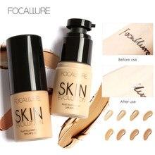 FOCALLURE Basis Gesicht Flüssige Foundation Creme Full Coverage Concealer Öl-control Einfach zu Tragen Weiches Gesicht Make-Up Foundation