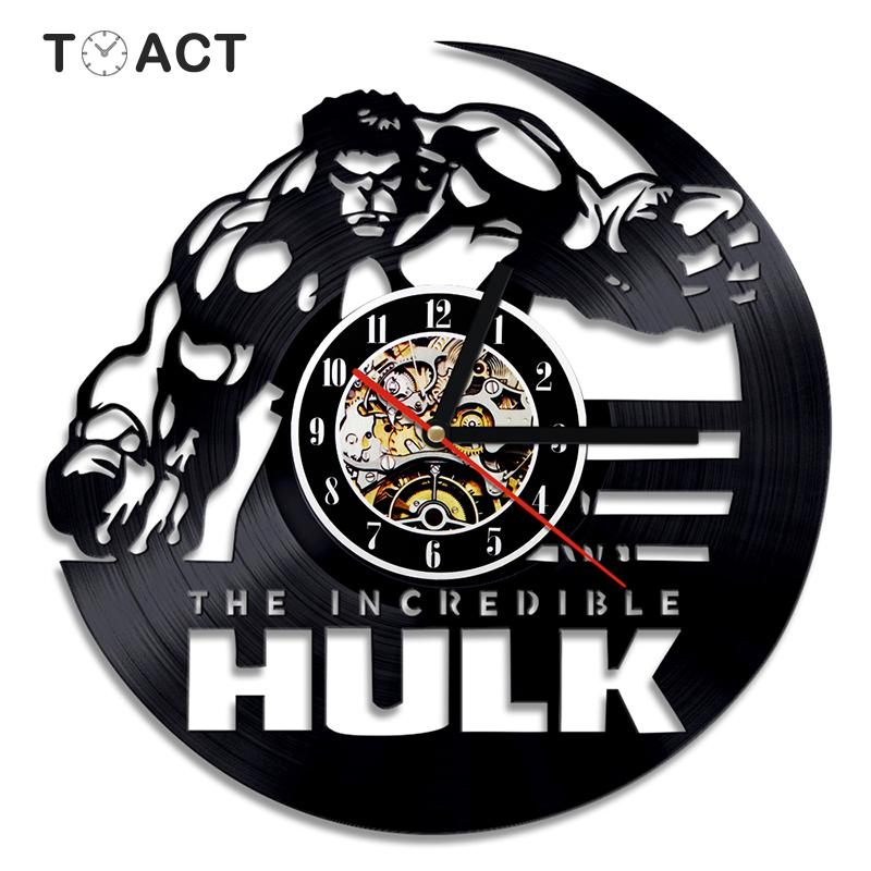 Avengers Led Light Vinyl Records Avengers Marvel Wall Clock Vinyl Wall Light Art Wall Light Handmade Wall Decor Perfect Gift Handmade Products Home Kitchen