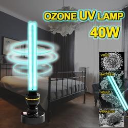 UV 110V/220V UVC Light Sterilizer 25/30/40W Ozone Quartz UVC Lamp E27 Bulb Ultraviolet Germicidal Lamps for Home Desinfection