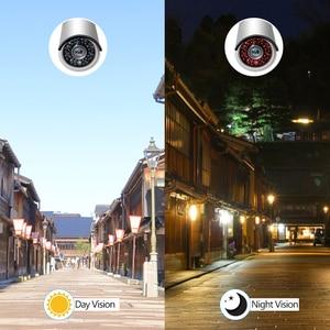 Image 5 - MISECU H.265 كامل HD 2MP 5MP الأمن الصوت IP كاميرا 1080P المعادن مقاوم للماء POE ONVIF رصاصة في الهواء الطلق CCTV كاميرا مراقبة