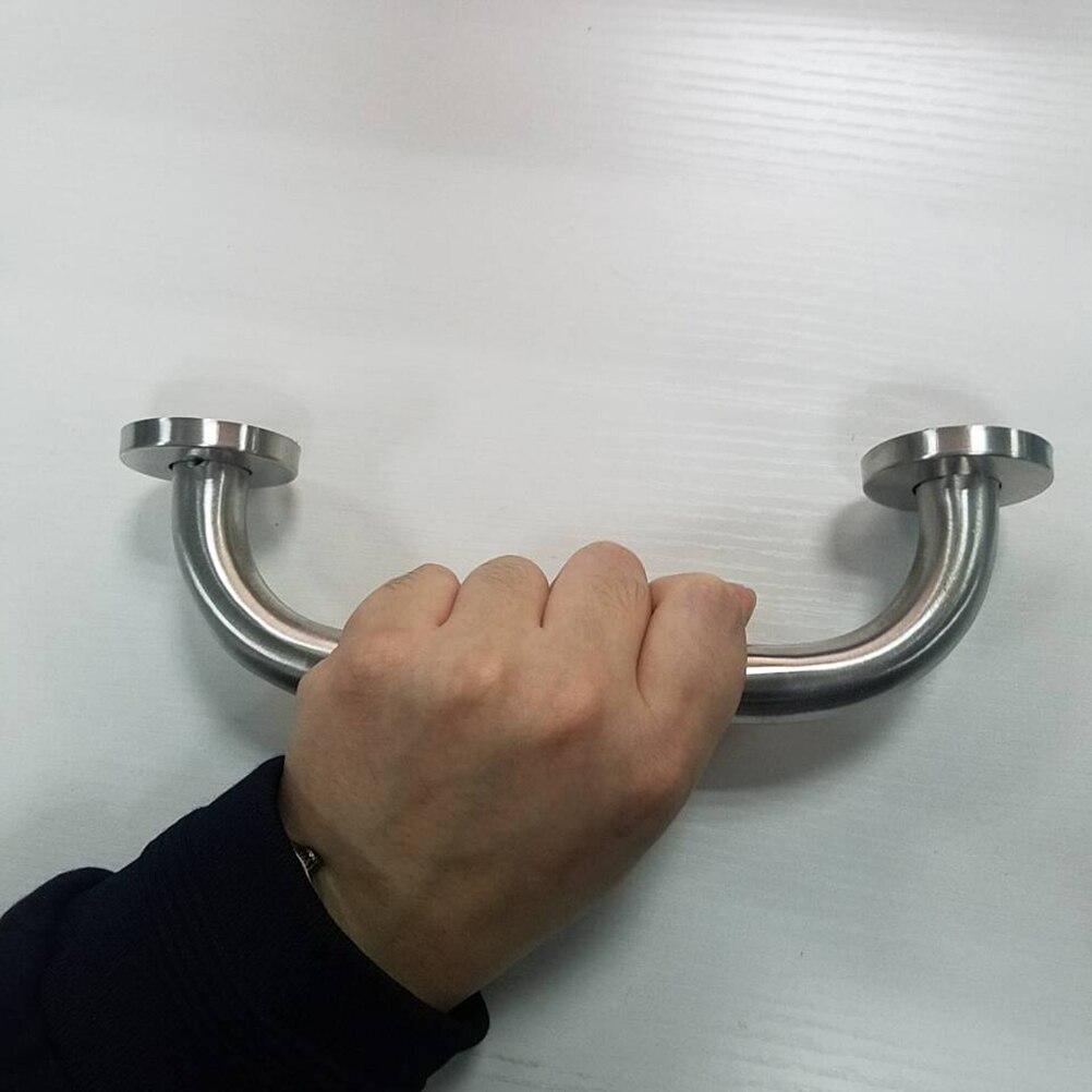 1 шт. Нержавеющая сталь ванная комната душ ванна рука ручка безопасность туалет поддержка поручень инвалидность помощь поручень поручень ручка полотенце вешалка