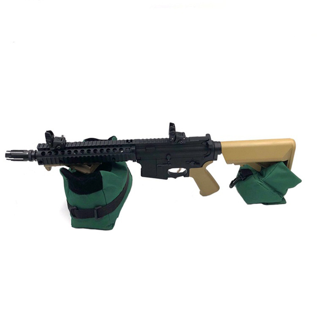 Front&Rear Bag Support Rifle Sandbag without Sand Sniper Hunting Target Stand Hunting Gun Accessories 4