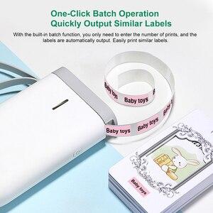 Image 4 - D11 Wireless Label Printer Portable Pocket Label Printer Handheld BT Connection Fast Printing for Home Office impresoras